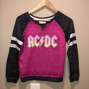 Girls AC/DC sweatshirt size 10/12